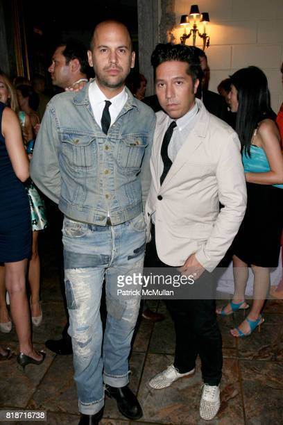 Claude Morais and Brian Wolk attend The YOUNG PATRONS CIRCLE of AMERICAN FRIENDS Hosts SOIREE AU LOUVRE at Payne Whitney Mansion on June 3 2010