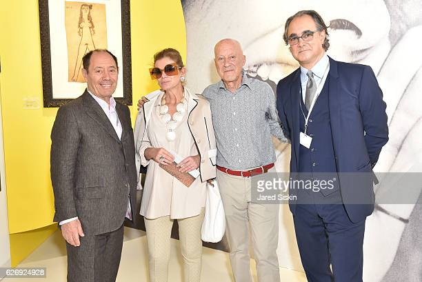 Claude Picasso Elena Foster Norman Foster and Mathias Rastorfer attend Art Basel Miami Beach VIP Preview at Miami Beach Convention Center on November...