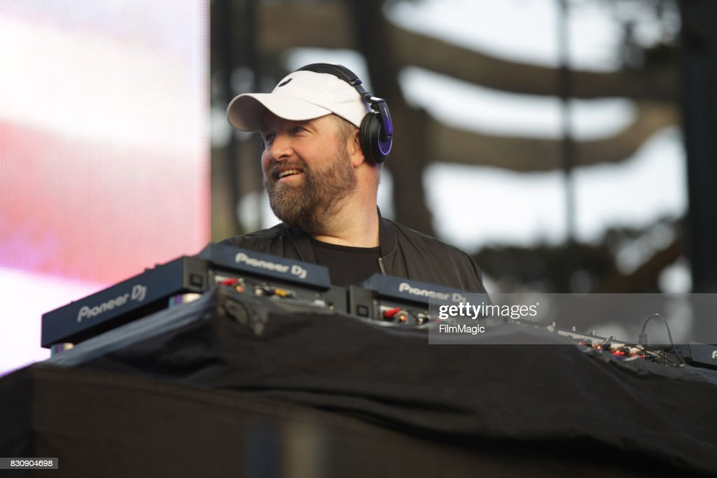 Claude VonStroke performs on the Twin Peaks Stage during the 2017 Outside Lands Music And Arts Festival at Golden Gate Park on August 12, 2017 in San Francisco, California.