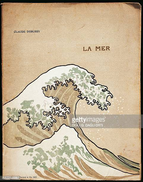 ClaudeAchille Debussy 'La Mer' cover of the first edition A Durand and Sons 1905