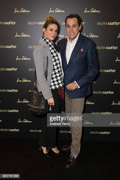 Claudelle Deckert and Sam Edelman attend the opening of the 'Dream Concept' floor at Galeria Kaufhof on November 2 2016 in Duesseldorf Germany