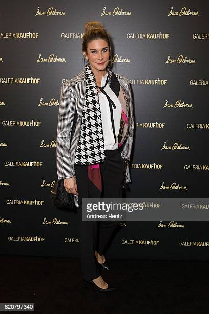 Claudelle Deckert attends the opening of the 'Dream Concept' floor at Galeria Kaufhof on November 2 2016 in Duesseldorf Germany