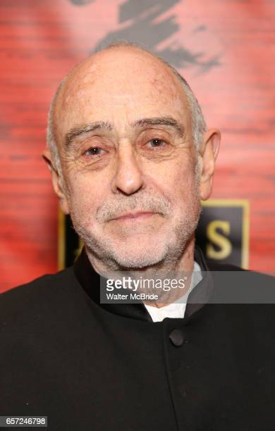 ClaudeMichel Schnberg attends The Opening Night of the New Broadway Production of 'Miss Saigon' at the Broadway Theatre on March 23 2017 in New York...