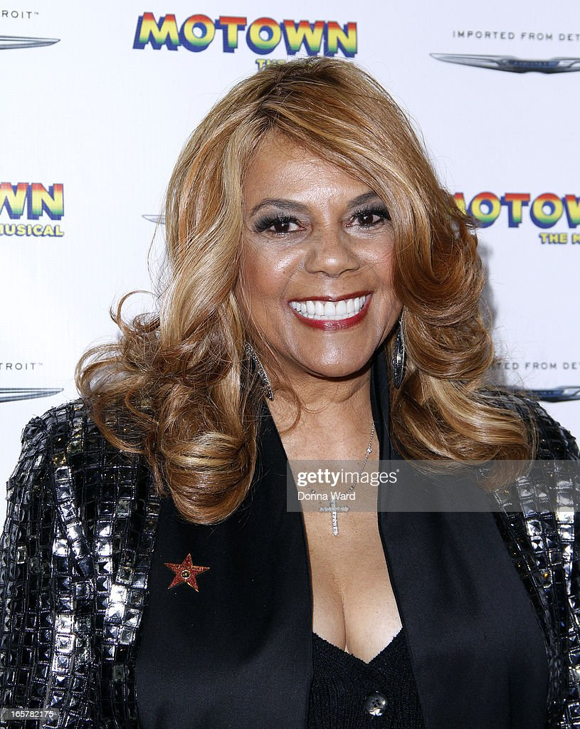 Claudette Robinson attends 'Motown: The Musical' Motown Family Night at Lunt-Fontanne Theatre on April 5, 2013 in New York City.