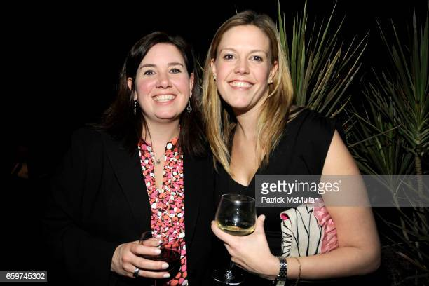Claudia Anderson and Melinda Anderson attend PARADE MAGAZINE and SI Newhouse Jr honor Walter Anderson at The 4 Seasons Grill Room on March 31 2009 in...
