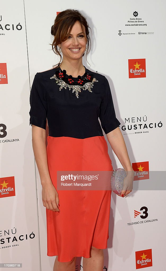 Claudia Bassols attends the premiere of 'Menu Degustacion' at Comedia Cinema on June 10, 2013 in Barcelona, Spain.