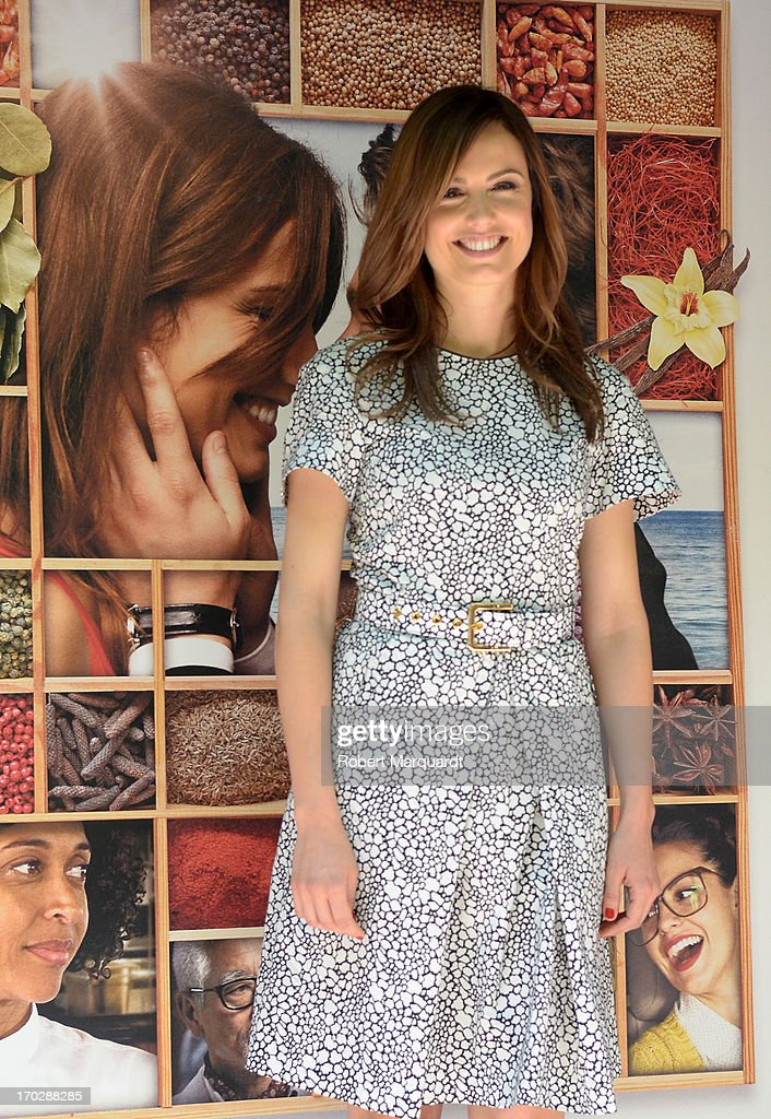 Claudia Bassols poses during a photocall for her latest film 'Menu Degustacion' at the Cine Girona on June 10, 2013 in Madrid, Spain.