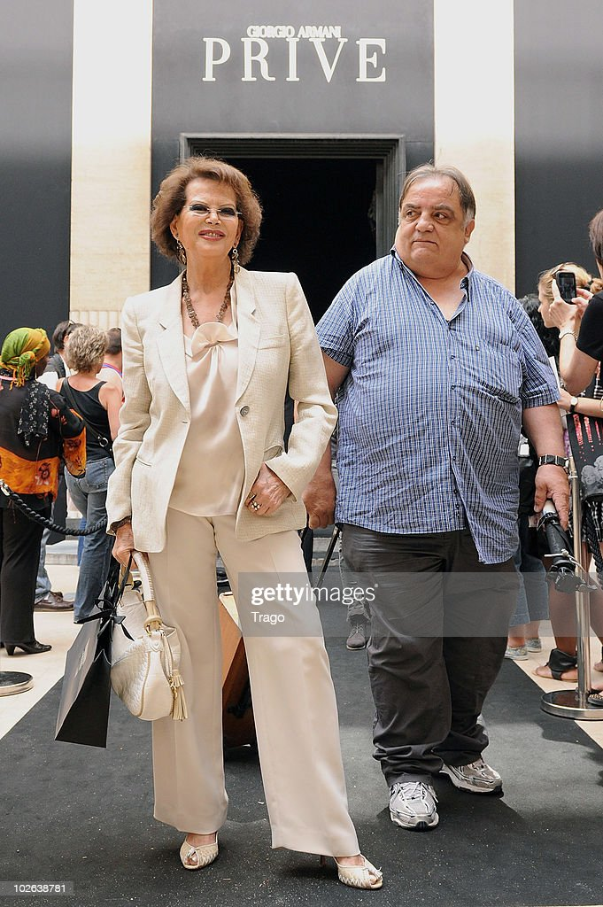 <a gi-track='captionPersonalityLinkClicked' href=/galleries/search?phrase=Claudia+Cardinale&family=editorial&specificpeople=208838 ng-click='$event.stopPropagation()'>Claudia Cardinale</a> attends Giorgio Armani show as part of the Paris Haute Couture Fashion Week Fall/Winter 2011 at Espace Vendome on July 6, 2010 in Paris, France.