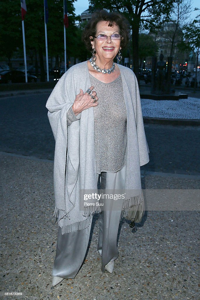<a gi-track='captionPersonalityLinkClicked' href=/galleries/search?phrase=Claudia+Cardinale&family=editorial&specificpeople=208838 ng-click='$event.stopPropagation()'>Claudia Cardinale</a> attends the UNITAID Party at the Palais d'iena on April 1, 2014 in Paris, France.