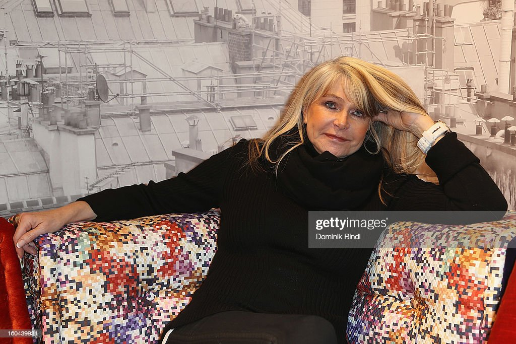 Claudia Carpendale attends the opening of the Roche Bobois shop on January 31, 2013 in Munich, Germany.