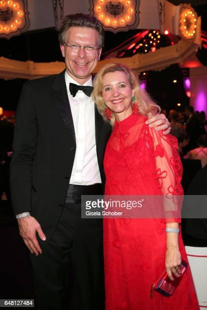 Claudia Cieslarczyk editorinchief of 'Frau im Spiegel' during the Goldene Kamera after show party at Messe Hamburg on March 4 2017 in Hamburg Germany