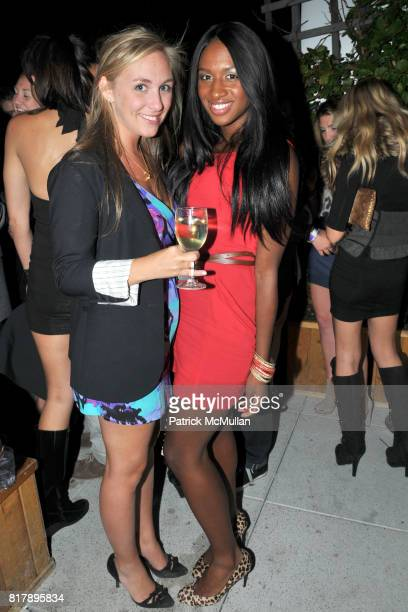 Claudia Davidson and Delvina Smith attend ASSOCIATION to BENEFIT CHILDREN Junior Committee Fundraiser at Gansevoort Hotel on September 14 2010 in New...