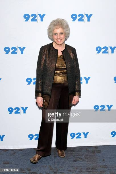 Claudia Dreifus visits the 92nd Street Y to discuss 'The Immortal Life of Henrietta Lacks' on April 13 2017 in New York City