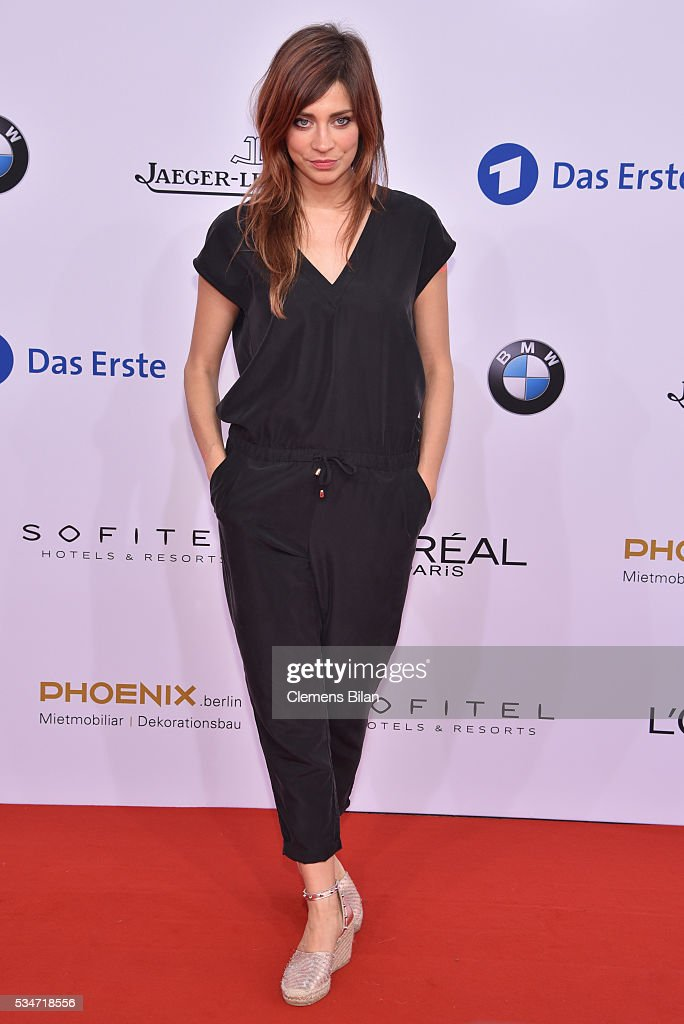 <a gi-track='captionPersonalityLinkClicked' href=/galleries/search?phrase=Claudia+Eisinger&family=editorial&specificpeople=6742218 ng-click='$event.stopPropagation()'>Claudia Eisinger</a> attends the Lola - German Film Award (Deutscher Filmpreis) on May 27, 2016 in Berlin, Germany.