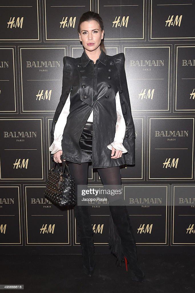 Balmain For H&M Collection Preview Photocall