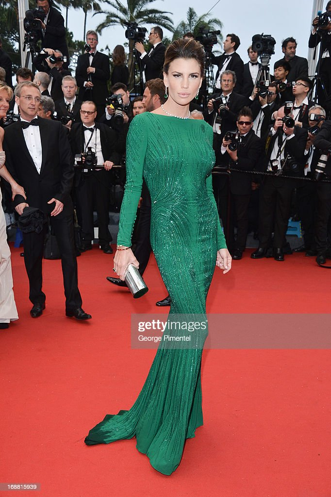 Claudia Galanti attends the Opening Ceremony and Premiere of 'The Great Gatsby' at The 66th Annual Cannes Film Festival at Palais des Festivals on May 15, 2013 in Cannes, France.