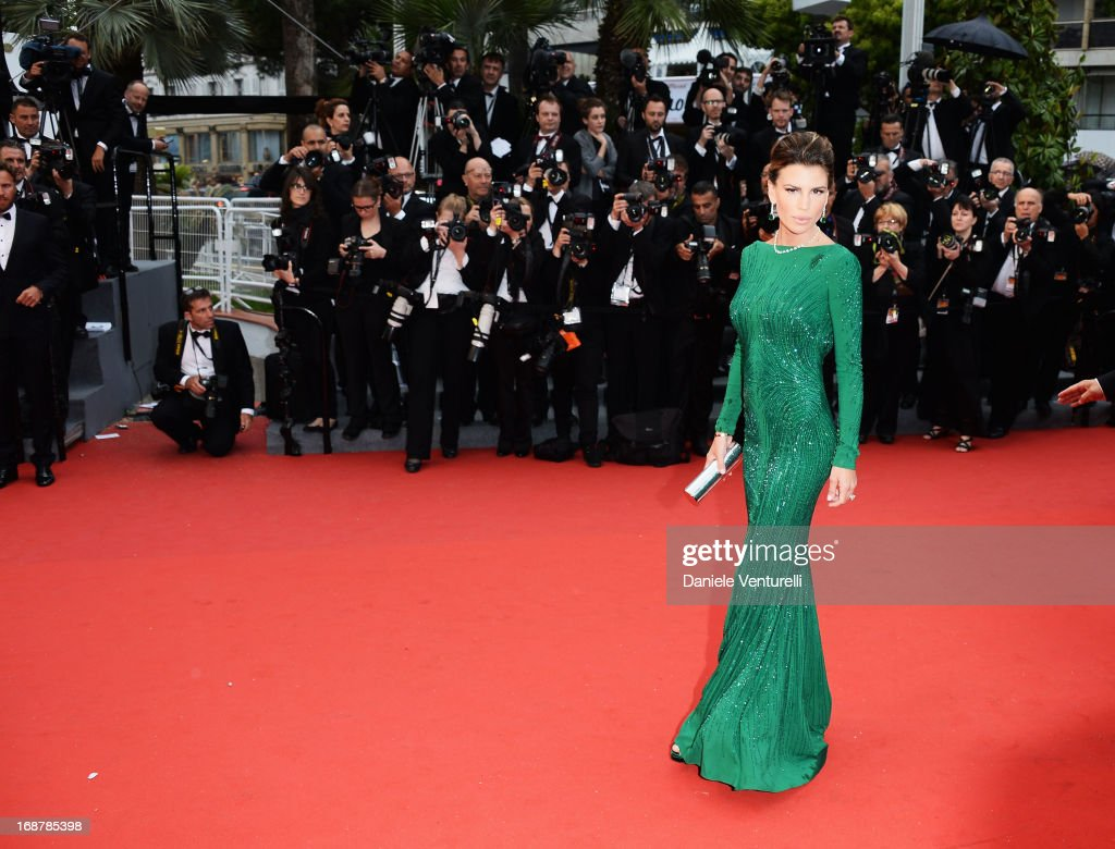 Claudia Galanti attends the Opening Ceremony and premiere of 'The Great Gatsby' during the 66th Annual Cannes Film Festival at Palais des Festivals on May 15, 2013 in Cannes, France.