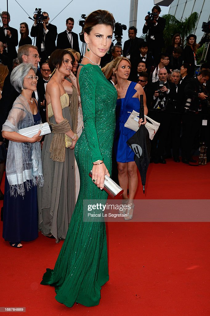 Claudia Galanti attends the Opening Ceremony and 'The Great Gatsby' Premiere during the 66th Annual Cannes Film Festival at the Theatre Lumiere on May 15, 2013 in Cannes, France.