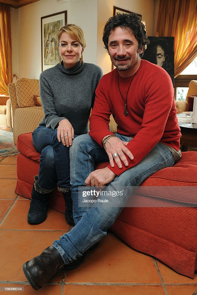 <a gi-track='captionPersonalityLinkClicked' href=/galleries/search?phrase=Claudia+Gerini&family=editorial&specificpeople=220347 ng-click='$event.stopPropagation()'>Claudia Gerini</a> and <a gi-track='captionPersonalityLinkClicked' href=/galleries/search?phrase=Federico+Zampaglione&family=editorial&specificpeople=3959972 ng-click='$event.stopPropagation()'>Federico Zampaglione</a> attend the 22th Courmayeur Noir In Festival on December 15, 2012 in Courmayeur, Italy.