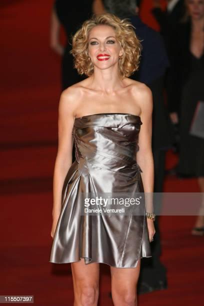 Claudia Gerini during 1st Annual Rome Film Festival 'La Sconosciuta' Premiere in Rome Italy