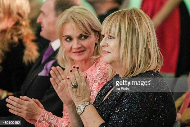 Claudia GuggerBessinger and Patricia Riekel attend the Passauer Runde Hosts Christmas Charity on December 05 2014 in Passau Germany