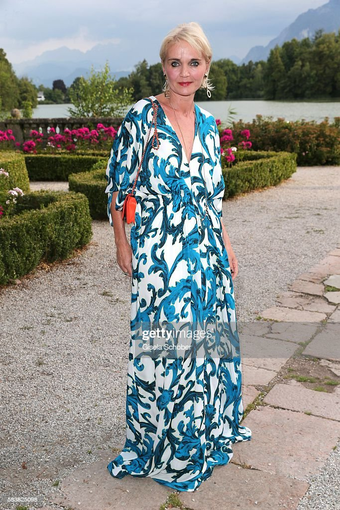 Claudia GuggerBessinger during the ISA gala at Schloss Leopoldskron on July 27 2016 in Salzburg Austria