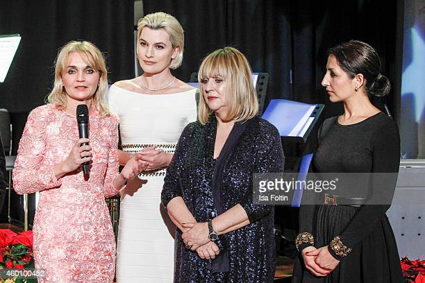 Claudia GuggerBessinger Kriemhild Siegel Patricia Riekel and Laila Hamidi attend the Passauer Runde Hosts Christmas Charity on December 05 2014 in...