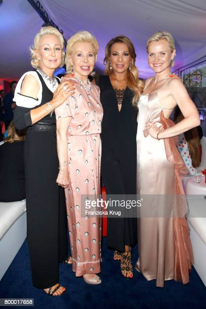 Claudia Jerger Ute Ohoven Chiara Ohoven and Barbara Sturm attend the 'Bertelsmann Summer Party' at Bertelsmann Repraesentanz on June 22 2017 in...