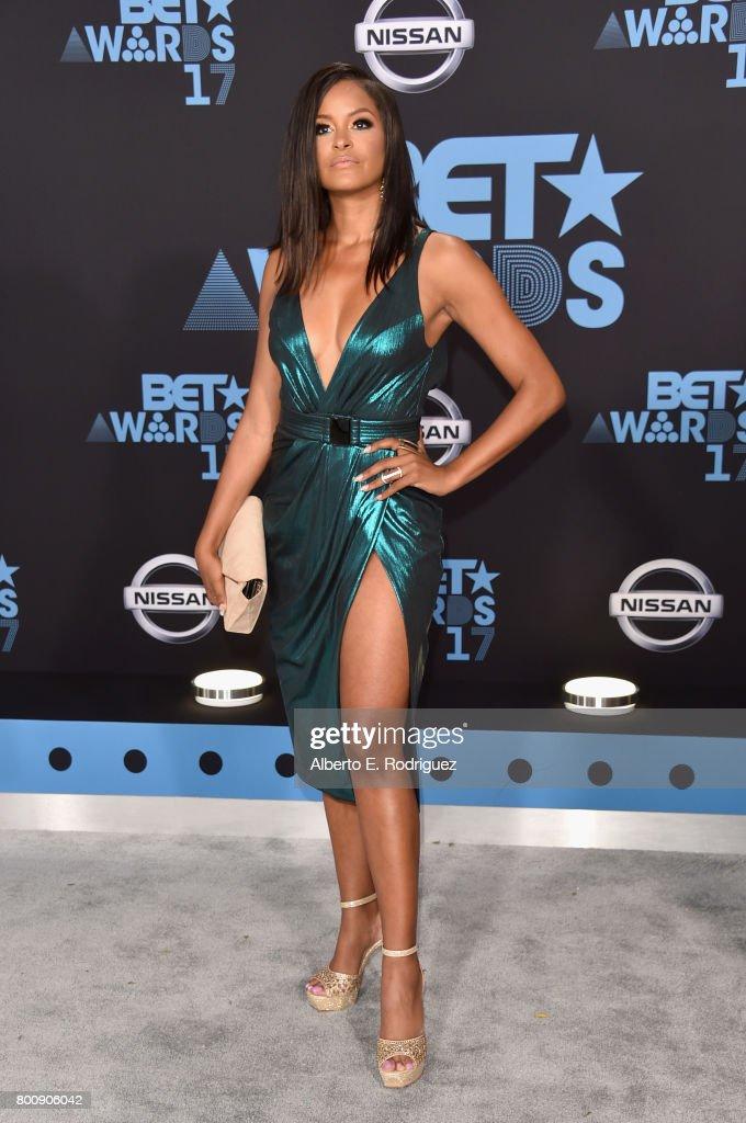 Claudia Jordan at the 2017 BET Awards at Microsoft Square on June 25, 2017 in Los Angeles, California.