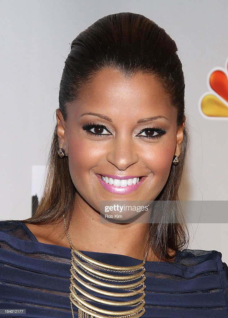 Claudia Jordan attends the 'Celebrity Apprentice All Stars' Season 13 Press Conference at Jack Studios on October 12, 2012 in New York City.