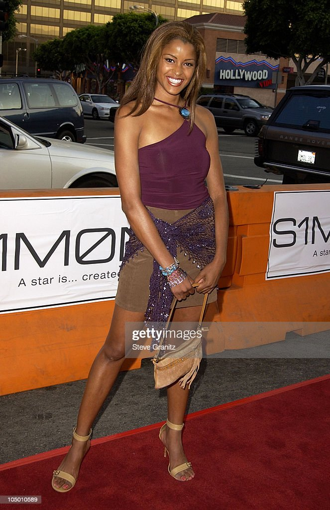 Claudia Jordan during 'Simone' - Los Angeles Premiere at National Theatre in Westwood, California, United States.