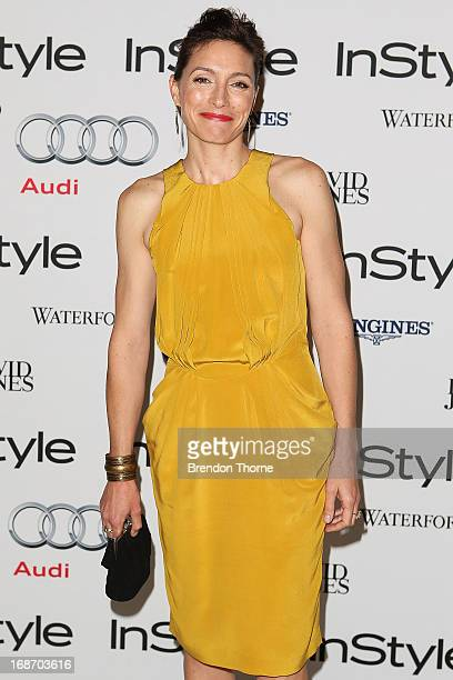 Claudia Karvan arrives at the 2013 Instyle and Audi Women of Style Awards at Carriageworks on May 14 2013 in Sydney Australia
