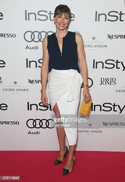 Claudia Karvan arrives at the 2015 Women of Style Awards at Carriageworks on May 13 2015 in Sydney Australia