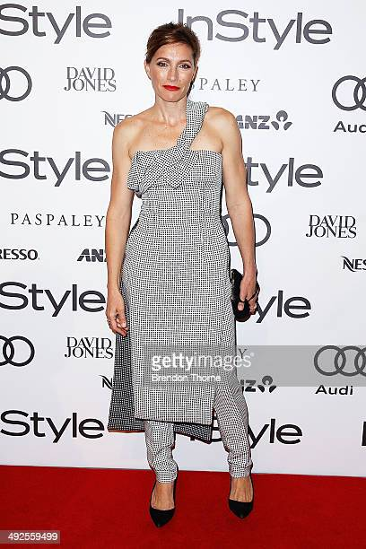 Claudia Karvan arrives at the Instyle and Audi 'Women of Style' Awards on May 21 2014 in Sydney Australia