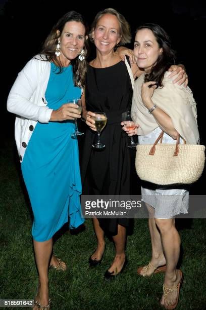 Claudia Lebenthal Suzanne Donaldson and Susan White attend Dinner for 'The Recessionistas' by Alexandra Lebenthal Hosted by Claudia Lebenthal on...