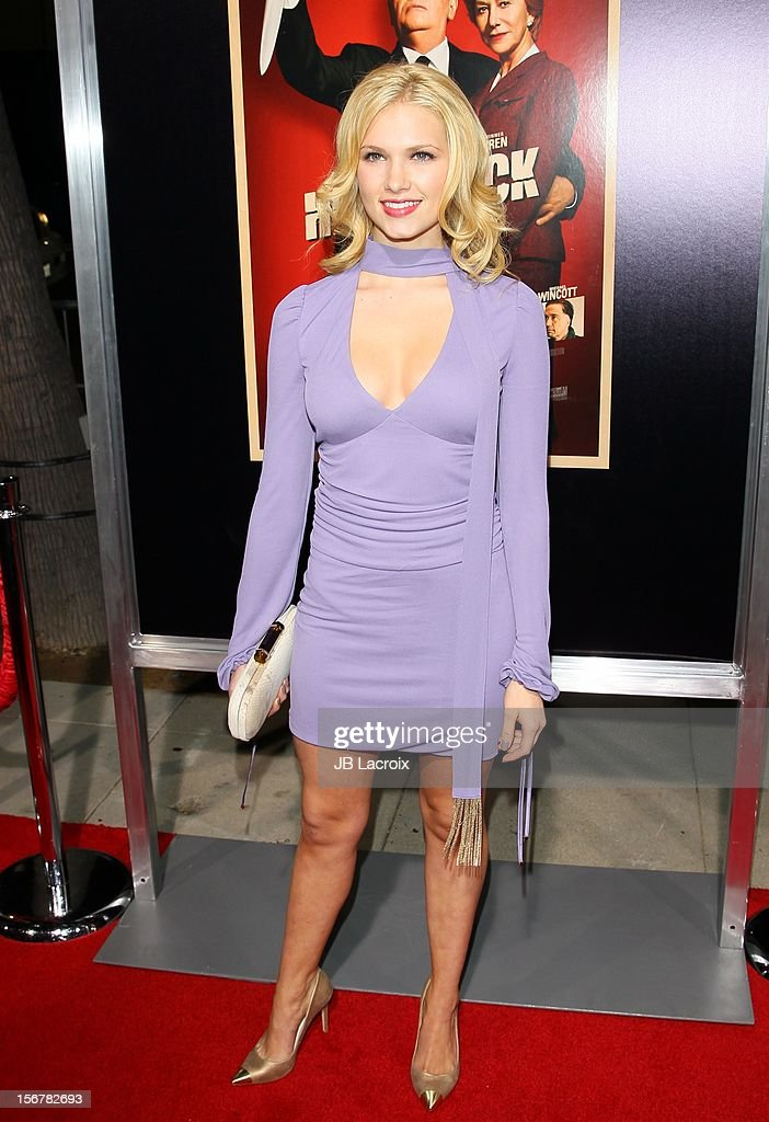 Claudia Lee attends the 'Hitchcock' - Los Angeles Premiere at the Academy of Motion Picture Arts and Sciences on November 20, 2012 in Beverly Hills, California.