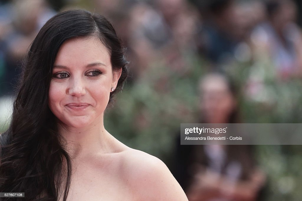 Claudia Levy attends the premiere of movie Palo Alto presented during the 70th International Venice Film Festival
