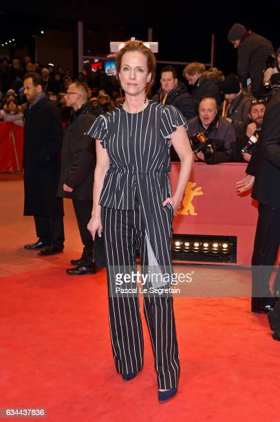 Claudia Michelsen attends the 'Django' premiere during the 67th Berlinale International Film Festival Berlin at Berlinale Palace on February 9 2017...