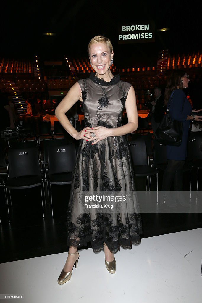 Claudia Michelsen attends the 'Michalsky Style Nite After Show Party - Mercesdes-Benz Fashion Week Autumn/Winter 2013/14' at Tempodrom on January 18, 2013 in Berlin, Germany.