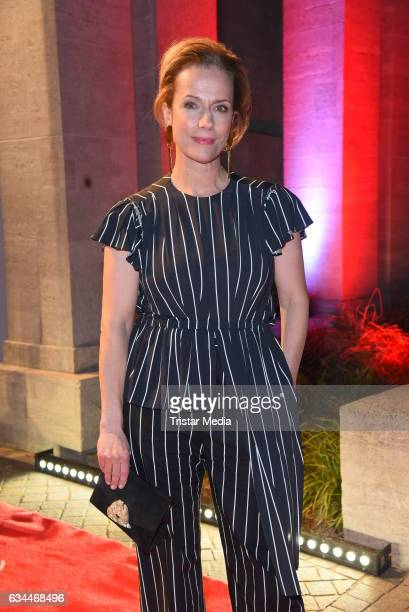 Claudia Michelsen attends the Opening Night By GALA UFA on February 9 2017 in Berlin Germany