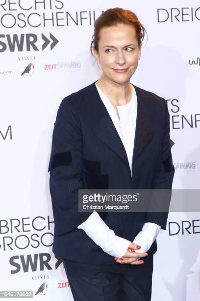 Claudia Michelsen attends the photo call for the film 'Brechts Dreigroschenfilm' on February 28 2017 in Berlin Germany