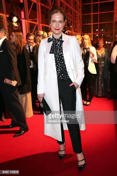 Claudia Michelsen during the Goldene Kamera reception at Messe Hamburg on March 4 2017 in Hamburg Germany