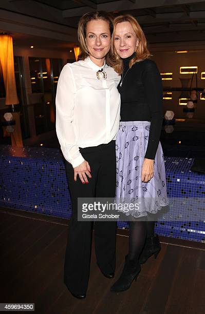 Claudia Michelsen Katja Flint during the ARD advent dinner hosted by the program director of the tv station Erstes Deutsches Fernsehen at Hotel...
