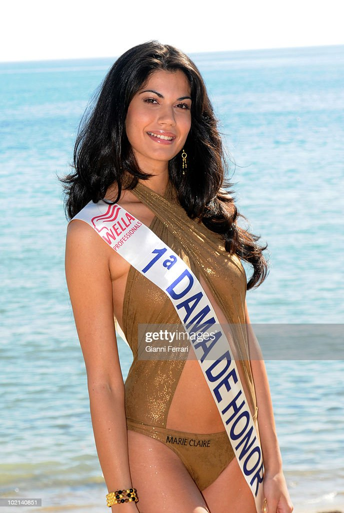 Claudia Moro, first lady of honor of Patricia Rodriguez, Miss Spain, Second March 2008, 'Grand Hotel Oasis', Cancun, Mexico.