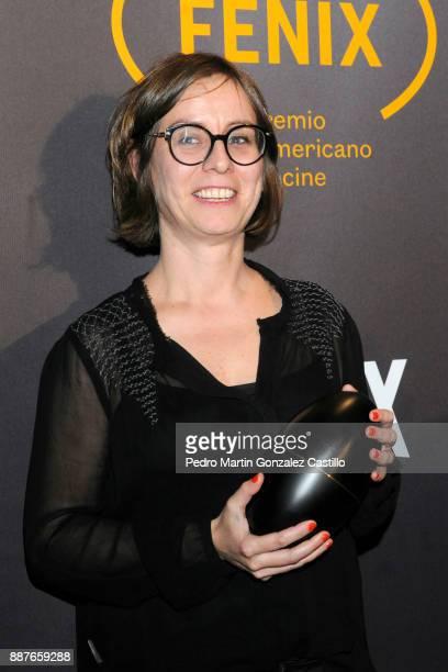 Claudia Oliveira poses during Fenix Iberoamerican Film Awards 2017 at Teatro de La Ciudad on December 06 2017 in Mexico City Mexico