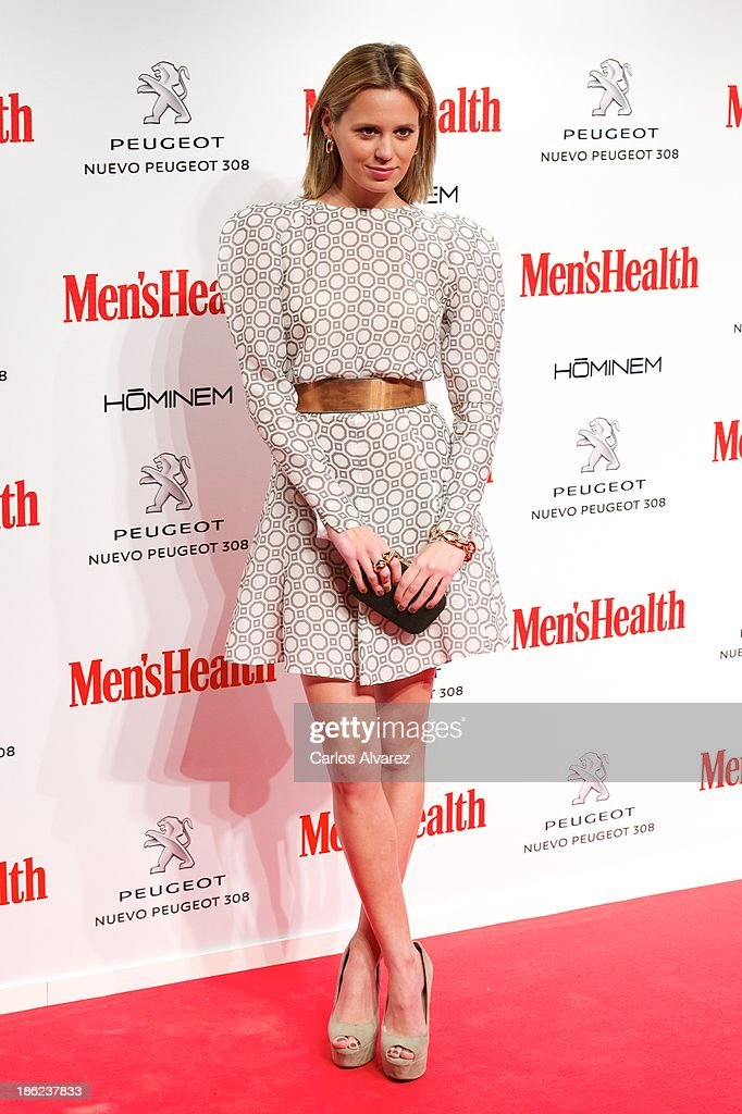 Claudia Ortiz Domecq attends Men's Health Awards 2013 at the Canal Theater on October 29, 2013 in Madrid, Spain.