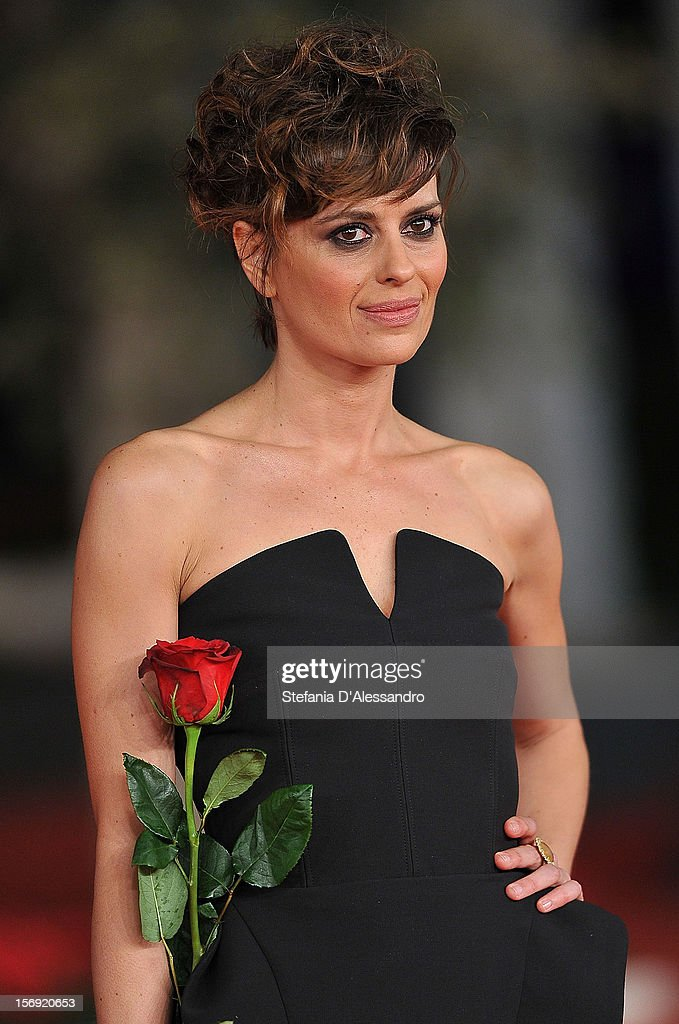 Claudia Pandolfi attends Closing Ceremony Red Carpet during The 7th Rome Film Festival on November 17, 2012 in Rome, Italy.