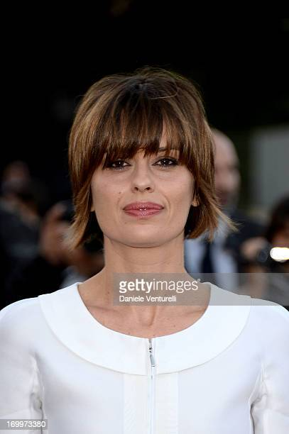 Claudia Pandolfi attends 'One Night Only' Roma on June 5 2013 in Rome Italy