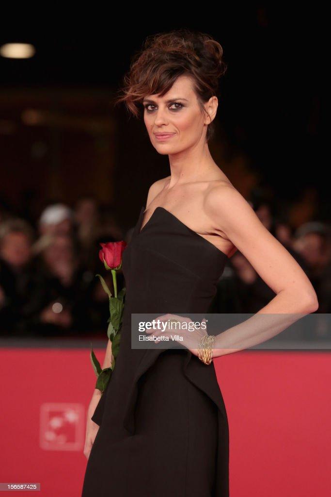 Claudia Pandolfi attends the Closing Ceremony during the 7th Rome Film Festival at Auditorium Parco Della Musica on November 17, 2012 in Rome, Italy.