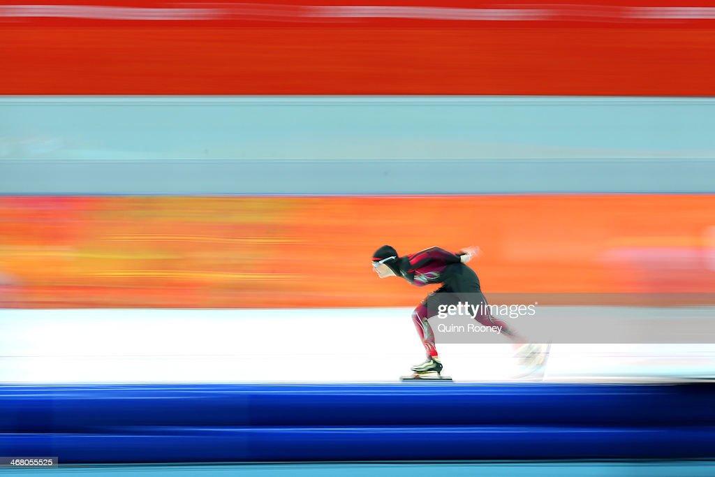 Speed Skating - Winter Olympics Day 2